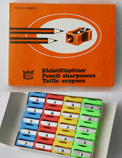 20 X RARE VINTAGE 80'S EISEN PENCIL SHARPENERS MADE IN GERMANY NEW IN BOX NOS !