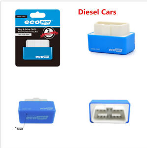 New EcoOBD2 Chip Tuning Box 15% Fuel Saver Plug & Drive For Diesel Car Vehicle