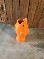 Ceramic Fish shaped tiki mug Barware 16 0z