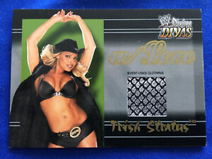 WWE Trish Stratus - W/ Love Event-Used Clothing Fleer Divine Divas Trading Card