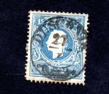 TIMBRE AUTRICHE 1858_59 FRANCOIS JOSEPH 1ER YT N° 10