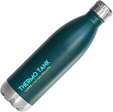 Thermo Tank Insulated Stainless Steel Water Bottle - Ice Cold 36 Hours! 25 Ounce