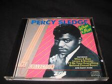 PERCY SLEDGE WHEN A MAN CD COLLECTION OBJECT ENTERPRISES LTD 1987
