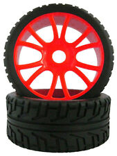 RC 4pcs Sponge Liner Tyre Tires & Wheel Rim Fit HSP 1:8 Off-Road Buggy 84R-803