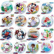 "22"" Disney Marvel Mickey Minnie Bubble Balloons Qualatex Birthday Boy Girl"