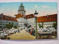 12356 AK Baufachausstellung Leipzig 1913 Hof der Pleissenburg um 1800