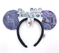Disney Parks Minnie Ears Glow In The Dark Haunted Mansion 50th Headband Rare