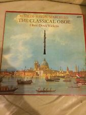 Vivaldi* / Haydn* / Marcello* / Derek Wickens - The Classical Oboe (vinyl LP)