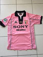 Juventus PINK DEL PIERO 1997 1998 Centenary Pink Jersey Shirt Maglia MED SUPERB