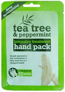 Tea Tree & Peppermint Deep Moisturising HAND Foot Pack - Free Post and Packing