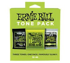 ERNIE BALL ELECTRIC TONE PACK - Set di 3 Mute per Elettrica Regular Slinky 10/46