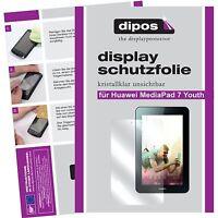 2x dipos Huawei MediaPad 7 Youth Protector de Pantalla transparente