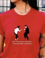 Pulp Fiction Dancing Scene Mia Wallace Jules Winnfield Vincent Men Women T-shirt