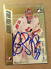 Kim St Pierre SIGNED 2007 ITG GOING FOR GOLD WOMEN'S card TEAM CANADA HHOF 2020