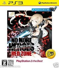 Used PS3 No More Heroes: Red Zone SONY PLAYSTATION 3 JAPAN JAPANESE IMPORT