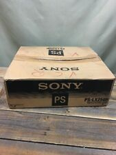 Very Rare Sony PS-LX250H Stereo Turntable Fully Automatic Missing Instructions