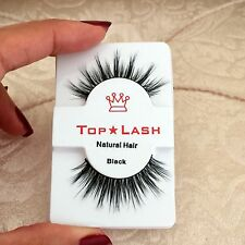 High Quality Real Natural Hair 3D False Eyelashes Wispie Fake Lashes Faux Mink