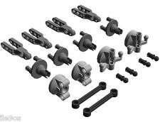 Lego STEERING Kit (wheel,hub,holder,ball,joint,pin,arm,towball,socket,racer,car)
