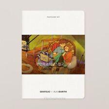 Grafolio Puuung's Illustration Love is Post Cards + Envelope Set Vol.2  Korean
