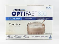 NEW FORMULA | OPTIFAST® 800 POWDER SHAKES | 1 BOX | CHOCOLATE | 7 SERVINGS