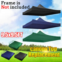 US Outdoor Up Tent Canopy Top Replacement Patio Gazebo Canopy Sun Shade Camping