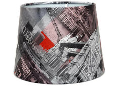 London Lampshade or Ceiling Light Shade Red Telephone Box Bus Underground Taxi