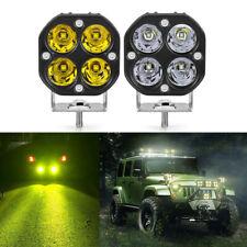 3inch 40W LED Work Light Bar Spot White Amber Pod Fog Lamp Offroad Truck SUV ATV