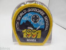 Boy Scout 17th World Jamboree Mondail South Korea Patch & Pouch