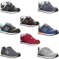 New Balance Ml 574 Unisex Suede Leather Trainers
