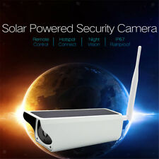 Lovoski CCTV Camera Solar Security Home Outdoor Monitor IR WiFi 1080P 2MP