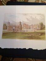 K2-1 1880s Book Plate Picture 6x4 Inches Charlecote