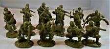 Toy Soldiers of San Diego Tssd Wwii Russian Infantry Set 5A Green Stalingrad
