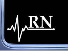 H179 NICU NURSE Neonatal intensive care heartbeat vinyl decal car sticker