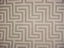 10-1/2Y DONGHIA GOLD GREY ZEN LATTICE DRAPERY UPHOLSTERY FABRIC