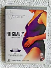 PREGNANCY FITNESS PLAN- DVD, R-4, LIKE NEW, FREE POST WITHIN AUSTRALIA