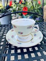 Colclough-Product of Ridgway Potteries LTD. Floral Tea Cup And Saucer England