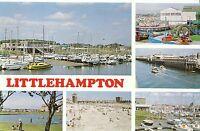 Sussex Postcard - Views of Littlehampton   V2191