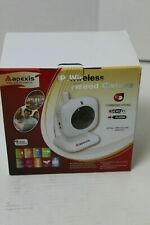 Wireless / Wired Camera Apexis White APM-J012-WS