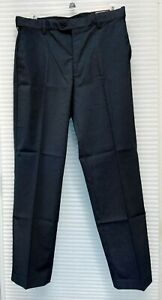 NEW Men's Kirkland Signature Classic Fit Non Iron Comfort Pant Expandable Waist