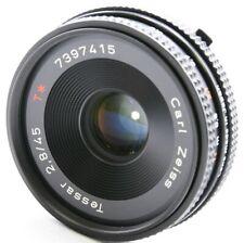 CONTAX Carl Zeiss Tessar 45mm F/2.8 T* MMJ Lens Excellent No. 7397415