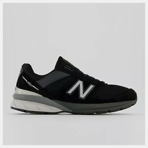 New Balance Made in US 990v5 Black with silver Free Shipping NWB