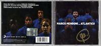MARCO MENGONI – Atlantico Cd autografato Autografo Signed Album Music