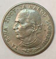 1939 SLOVAKIA 🇸🇰 5 KORUN COIN, 8g, 27mm Nickel, free combined shipping.