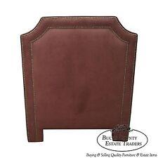 Quality Upholstered Twin Size Headboard w/ Tackhead Trim