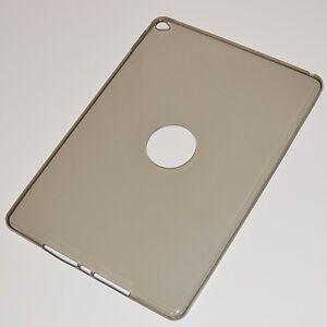 iPad air 2 Silikon-Hülle Schutz slim case smoked transparent für Space Grau Grey