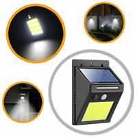 48 LED COB Solar Power PIR Motion 3 Modes Sensor Wall Light Outdoor Garden Lamp