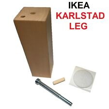 Ikea Karlstad Sofa Armchair Leg Replacement  Wood Couch Chair Feet Furniture