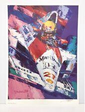 Tatsu Nakatsu SENNA McLaren Honda F1 Limited Edition Art Print Formula 1