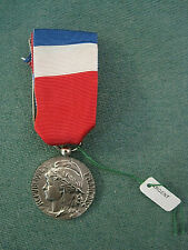 Médaille en argent Honneur travail