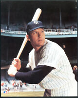 MICKEY MANTLE - Auto Signed Autographed 8x10 Baseball HOF Color Photo - JSA COA